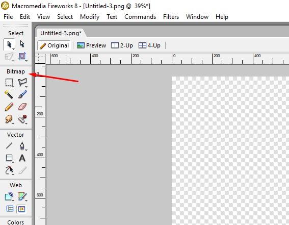 Bitmap menu - picture editor