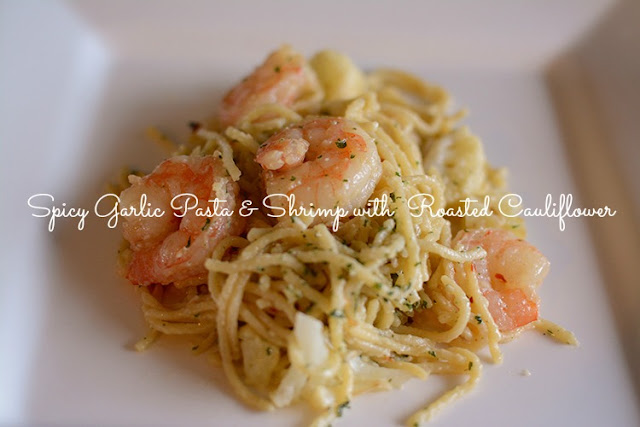 Make: Spicy Garlic Pasta & Shrimp | My Darling Days