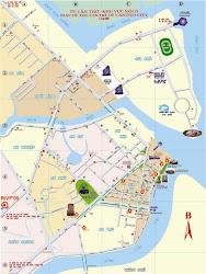 Mapa de Can Tho