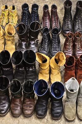 ウエスコジャパンスタッフがそれぞれの環境下で履き込んだウエスコブーツ。