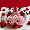 Strawberry Swiss Rolls