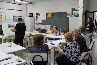 Asfuc promove formação para os professores de artes visuais