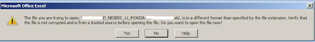 File Excel PDUN Tidak Bisa Dibuka, Begini Solusinya!