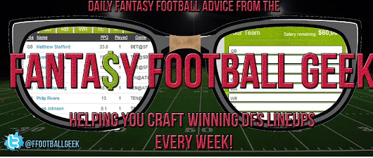 The Geek's Week 14 FanDuel & Draftkings Daily Fantasy Football Player Picks and Vegas Lines Analysis