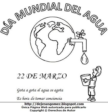 Dibujos Fotos Acrostico Y Mas Imagenes Del Dia Mundial Del Agua