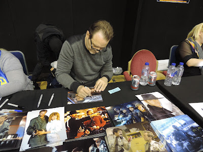 kyle reese signed photo shoot bournemouth film and comic con