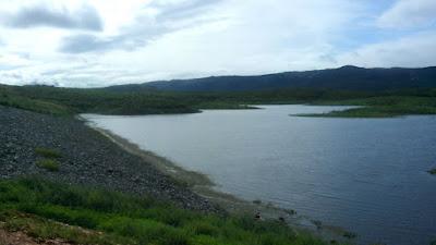 Açude de Buiú, em Olho D'água tem menos de 20% da capacidade total