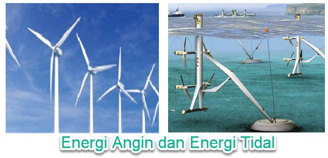 Energi Angin dan Tidal