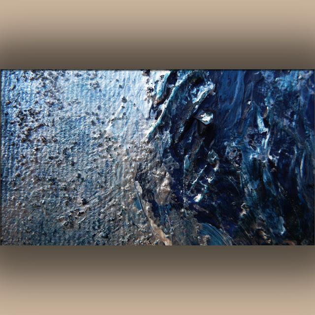 Dipinti materici astratti e complementi d 39 arredo la for Quadri acrilici astratti