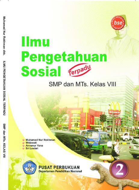 Download Buku Siswa KTSP SMP dan MTs Kelas 8 Ilmu Pengetahuan Sosial Terpadu 2