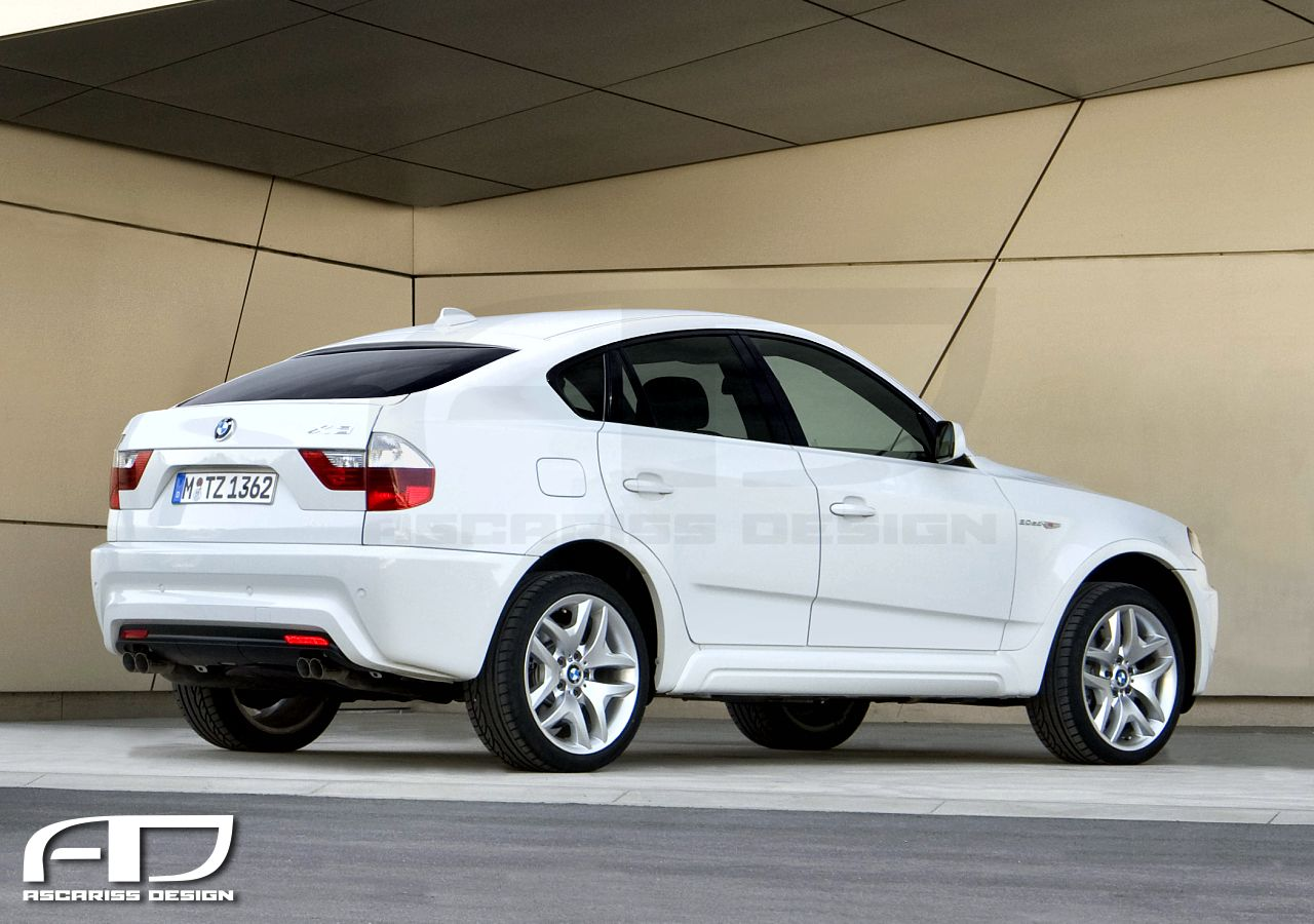BMW X4 (E83 generation) Rear View
