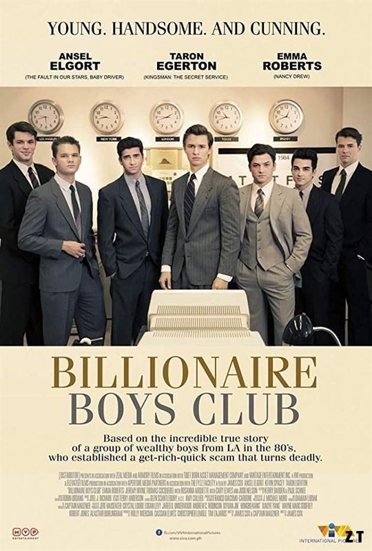 Billionaire Boys Club [HDRip] [Streaming] [Telecharger]