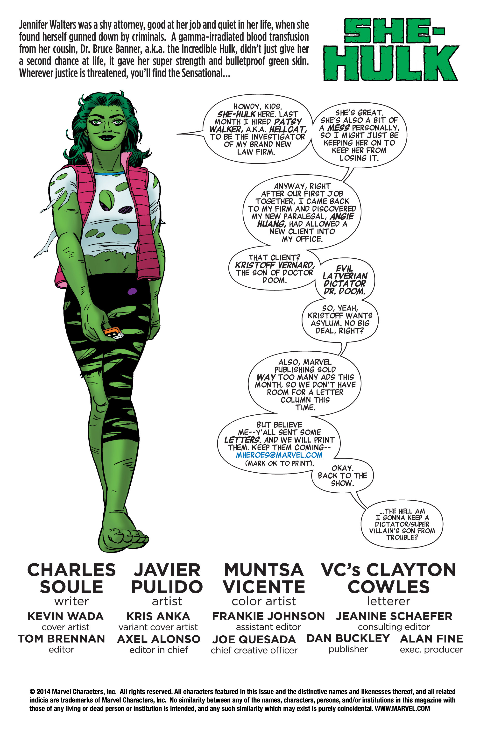 Read online She-Hulk (2014) comic -  Issue #3 - 2