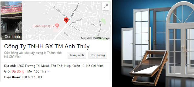 Cửa Hàng Thi Công Tất Cả Các Loại Cửa Nhôm Kính Tại TPHCM