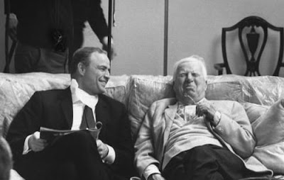 Marlon Brandon y Charlie Chaplin