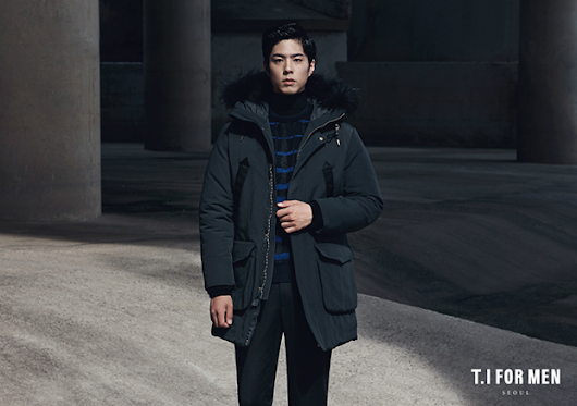 Park Bo Gum for T.I for Men Fall/Winter 2015 Ad Campaign