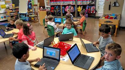 幼稚園的學生可以使用Chromebook ?