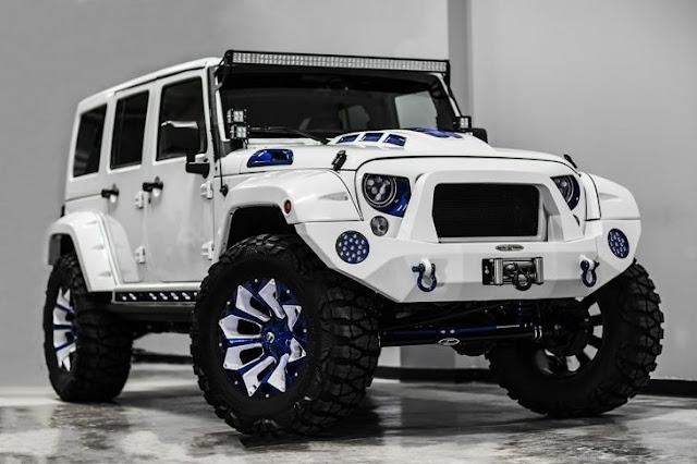 Crean modificación de Jeep Wrangler al estilo STORMTROOPER