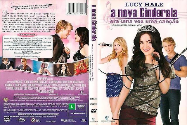 Capa DVD A Nova Cinderela Era Uma Vez Uma Canção