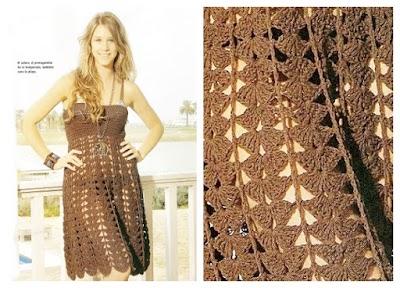 Vestido clásico patrón fondo de armario