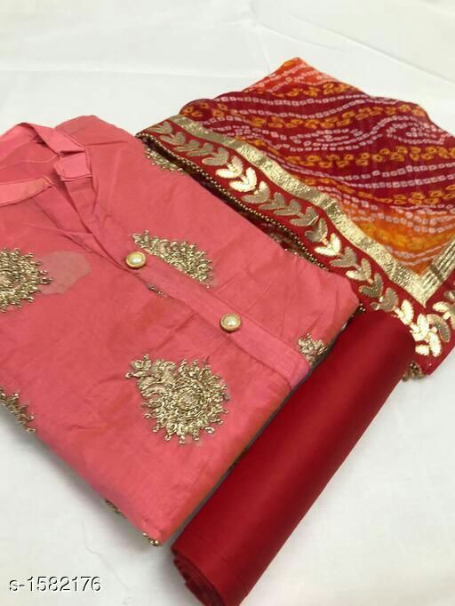Casual Silk Suits & Dress Material