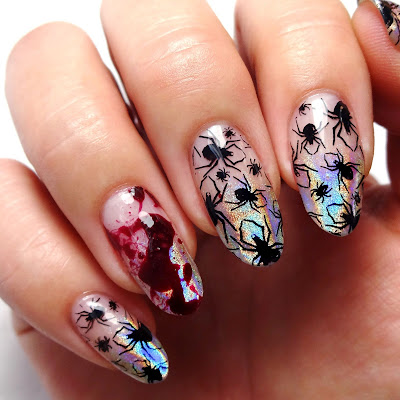 Spellbound Spiders Nails
