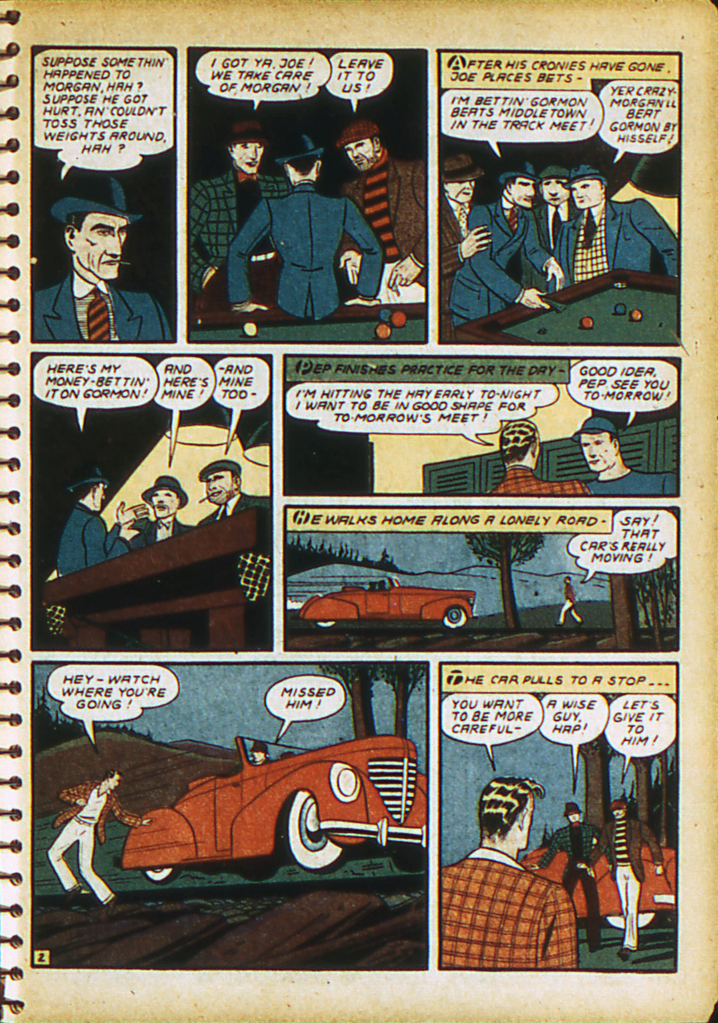 Read online Action Comics (1938) comic -  Issue #28 - 20