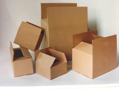 cajas para mudanzas en diferentes medidas y en formato B1