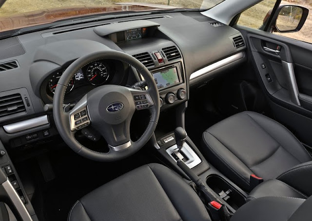 2014 Subaru Forester US Version Dashboard