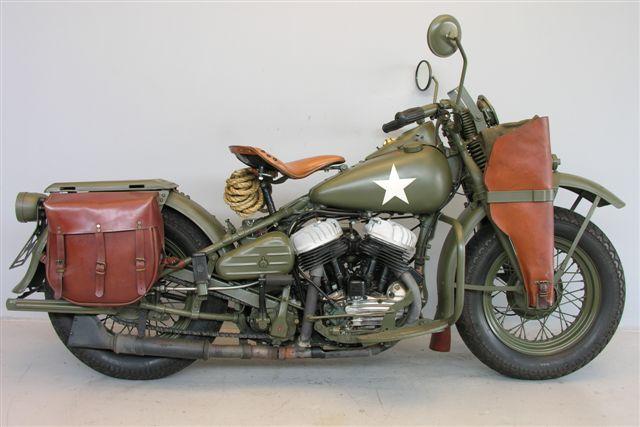 Harley Davidson Military WLA 1942 750cc