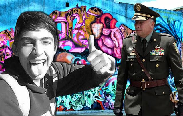 Destituidos e inhabilitados por 12 años tres uniformados más por muerte de grafitero