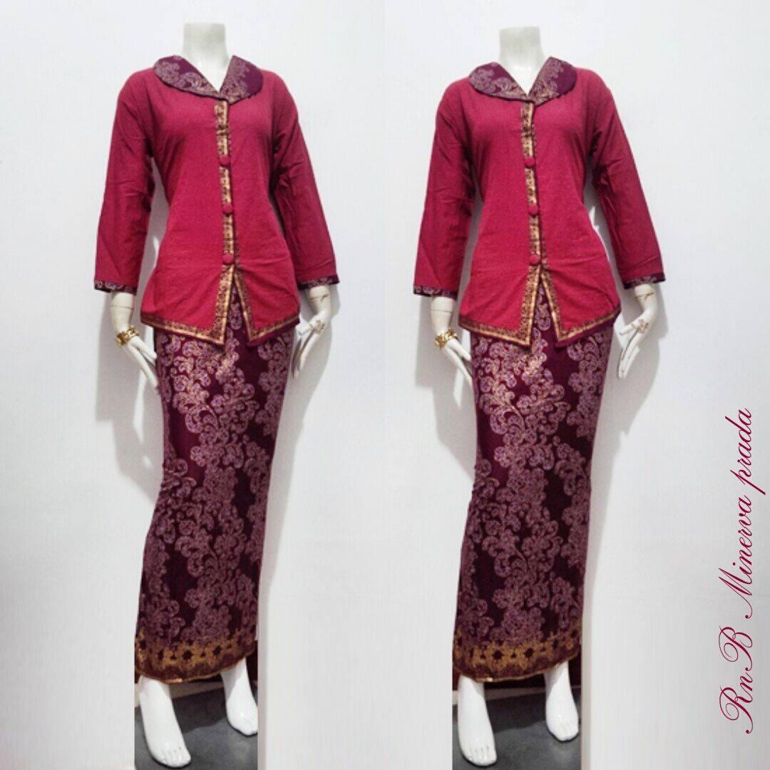 Toko Baju Batik Solo: Baju Batik Wnita Setelan Minerva Prodo