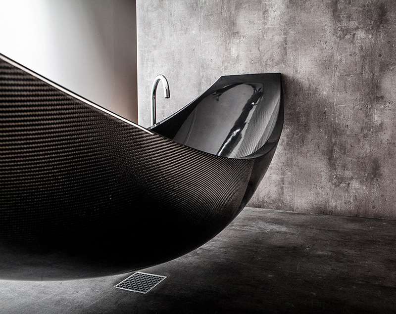 carbon fibre tub