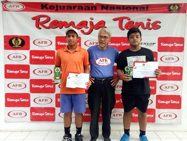 Kejurnas RemajaTenis Jakarta-78 Sukses Terselenggara