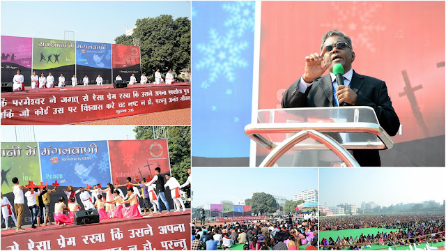 Gospel Shared To The Capital City Of Patna To Politicians