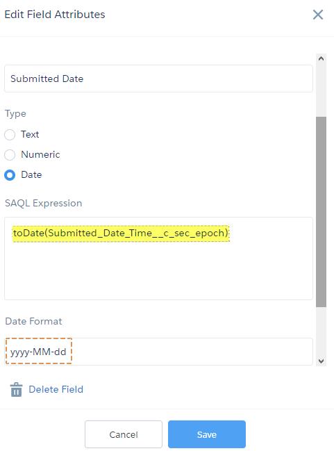 SimplySfdc com: Einstein Analytics: Convert DateTime field