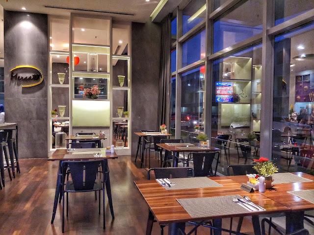 Jom Makan Malam di Restoran Mercato, Avangio Hotel Kota Kinabalu