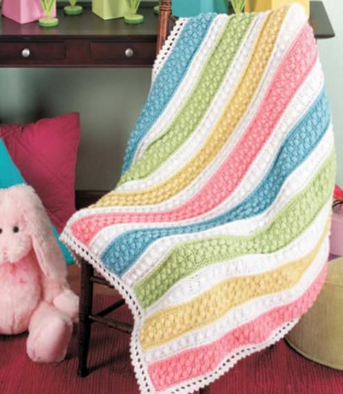 Baby Brights Afghan - Free Pattern