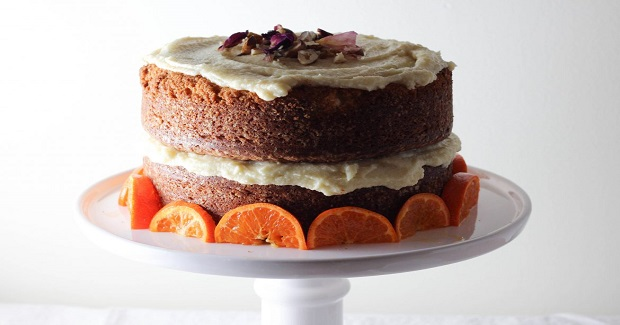Clementine And Hazelnut Cake With Orange Blossom Buttercream Recipe