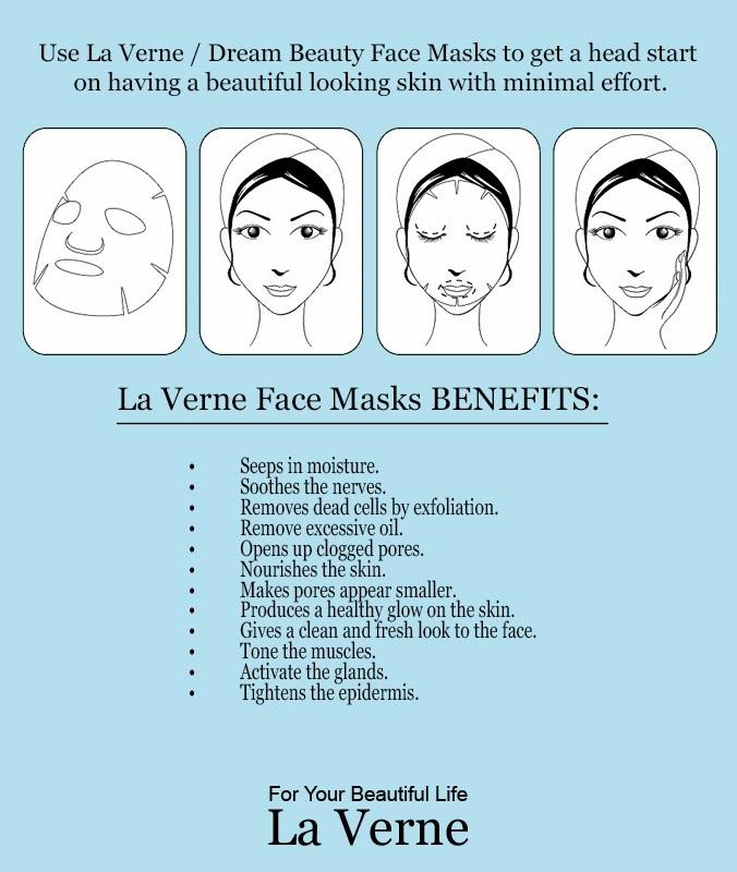 Mask Cosmetics La Packs Face Beauty Benefits Supply Verne