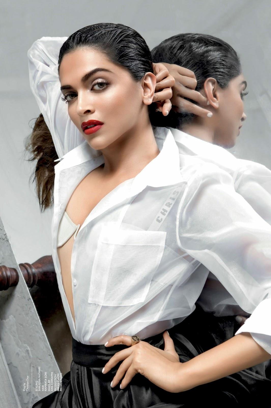Deepika Padukone Super Sexy Maxim India June 2017 Photoshoot