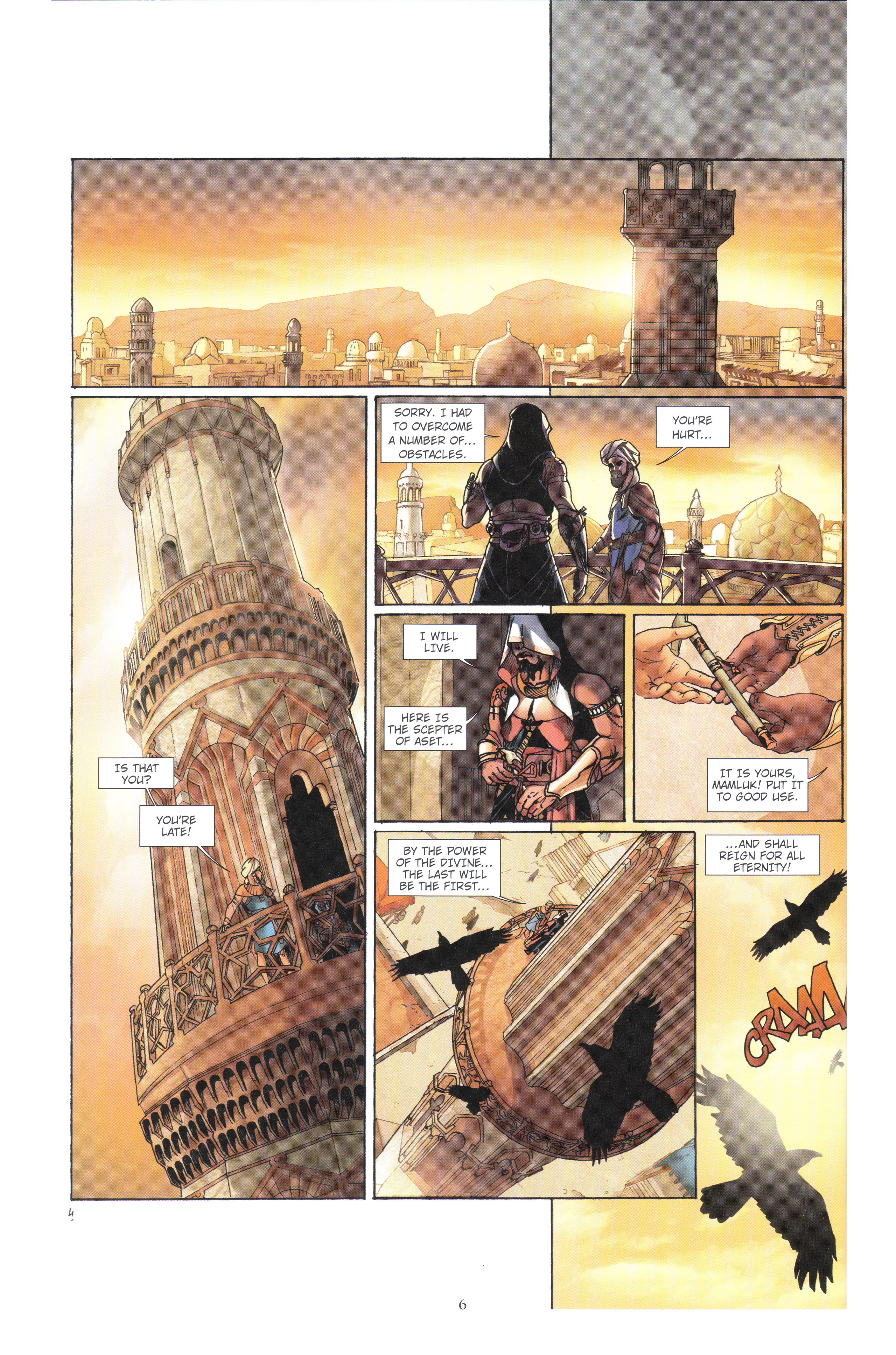 Read online Assassin's Creed (2012) comic -  Issue #4 - 6