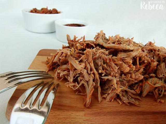 Pulled pork (cerdo deshilachado o desmigado)