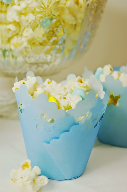 Baby Shower White Chocolate Popcorn The Kitchen Is My Playground