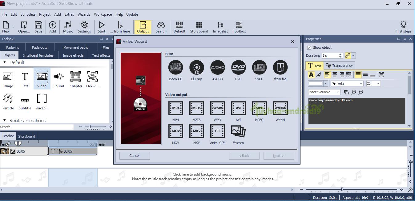 AquaSoft SlideShow Ultimate