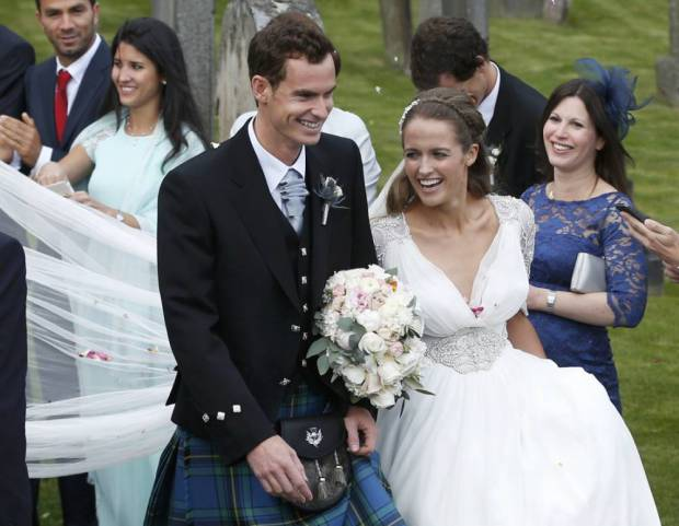 The pair were married last April (Picture: REUTERS)