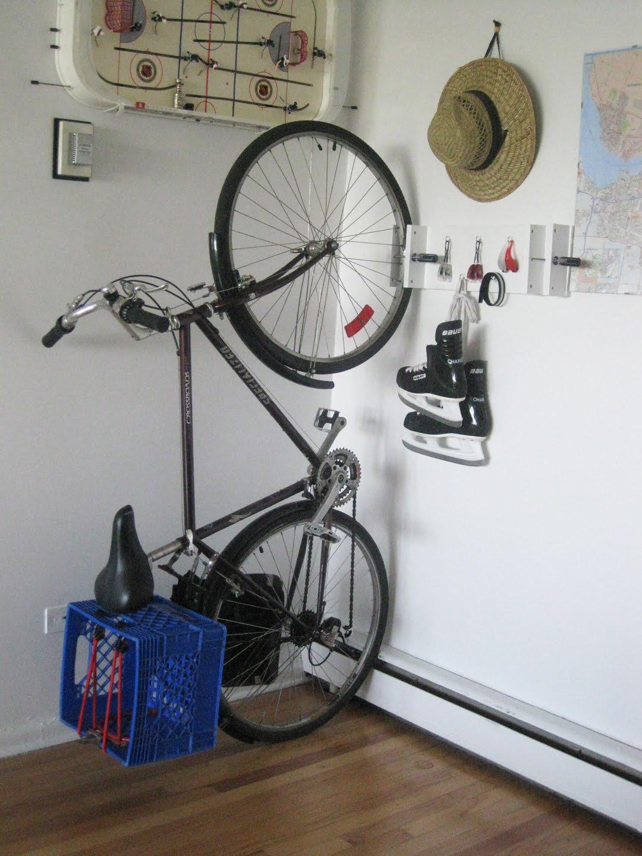 Lucks Vanjeet Is The Loch Nest Monster Diy Bike Rack