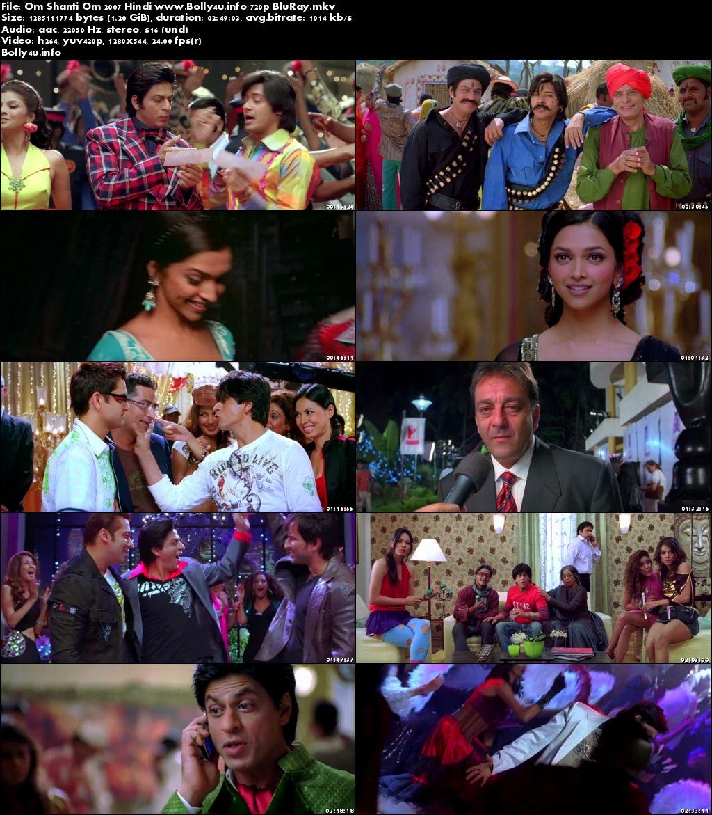 Om Shanti Om 2007 BRRip 450Mb Hindi Movie 480p Download