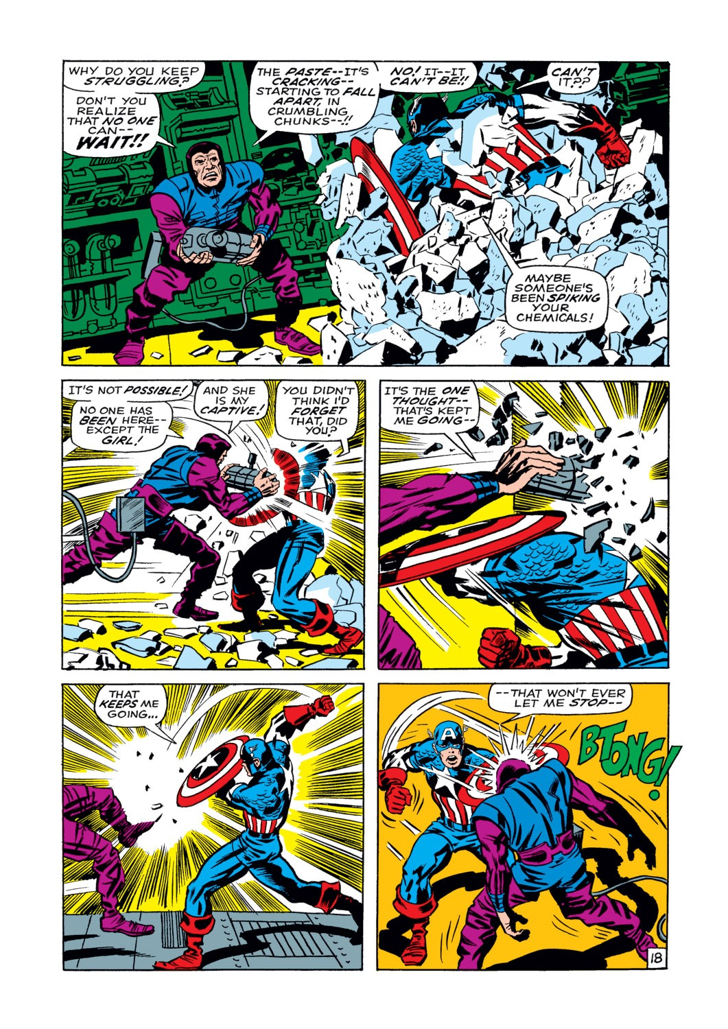 Captain America (1968) Issue #108 #22 - English 19