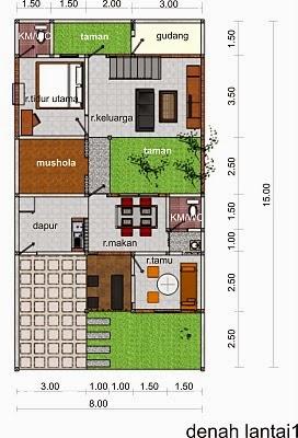 Design Rumahmu Konsep Design Rumah Islami Yang Teduh Dan Asri